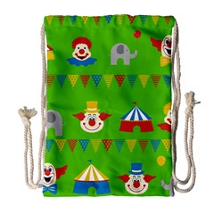 Circus Drawstring Bag (Large)