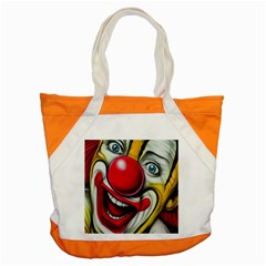 Clown Accent Tote Bag by Valentinaart