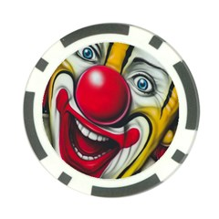 Clown Poker Chip Card Guard by Valentinaart