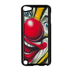 Clown Apple Ipod Touch 5 Case (black) by Valentinaart