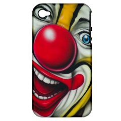 Clown Apple Iphone 4/4s Hardshell Case (pc+silicone) by Valentinaart