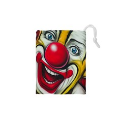 Clown Drawstring Pouches (xs)  by Valentinaart