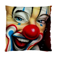 Clown Standard Cushion Case (one Side) by Valentinaart