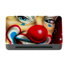Clown Memory Card Reader With Cf by Valentinaart