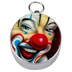 Clown Silver Compasses by Valentinaart