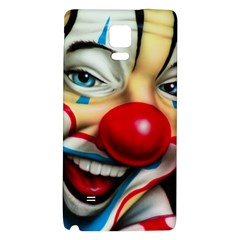 Clown Galaxy Note 4 Back Case by Valentinaart