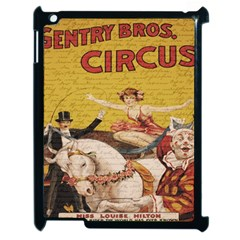 Vintage Circus  Apple Ipad 2 Case (black) by Valentinaart