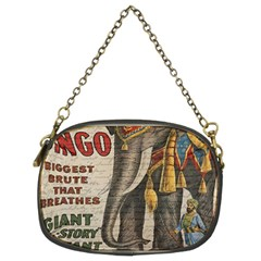 Vintage Circus  Chain Purses (two Sides)  by Valentinaart