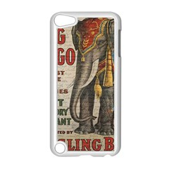 Vintage Circus  Apple Ipod Touch 5 Case (white) by Valentinaart