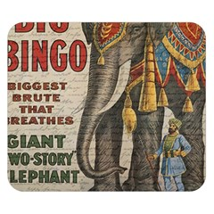 Vintage Circus  Double Sided Flano Blanket (small)  by Valentinaart