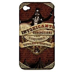 Vintage Circus  Apple Iphone 4/4s Hardshell Case (pc+silicone) by Valentinaart