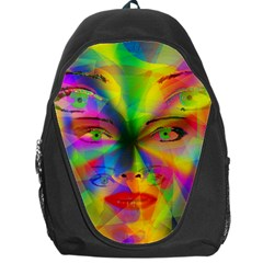 Rainbow Girl Backpack Bag by Valentinaart