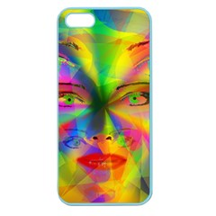 Rainbow Girl Apple Seamless Iphone 5 Case (color)