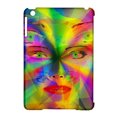 Rainbow Girl Apple Ipad Mini Hardshell Case (compatible With Smart Cover) by Valentinaart