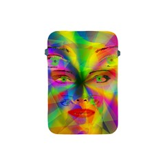 Rainbow Girl Apple Ipad Mini Protective Soft Cases by Valentinaart