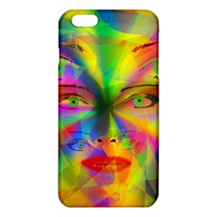 Rainbow Girl Iphone 6 Plus/6s Plus Tpu Case by Valentinaart