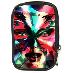 Abstract Girl Compact Camera Cases by Valentinaart