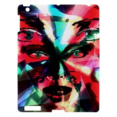 Abstract Girl Apple Ipad 3/4 Hardshell Case by Valentinaart