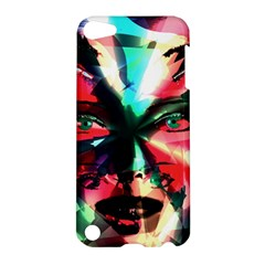 Abstract Girl Apple Ipod Touch 5 Hardshell Case by Valentinaart