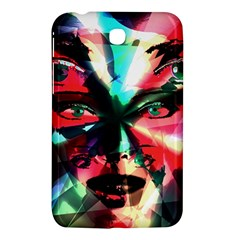 Abstract Girl Samsung Galaxy Tab 3 (7 ) P3200 Hardshell Case  by Valentinaart