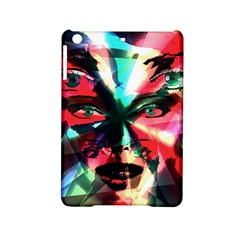 Abstract Girl Ipad Mini 2 Hardshell Cases by Valentinaart