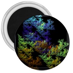 Fractal Forest 3  Magnets by Simbadda