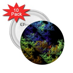 Fractal Forest 2 25  Buttons (10 Pack)  by Simbadda