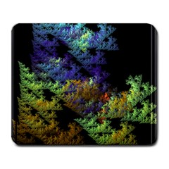 Fractal Forest Large Mousepads