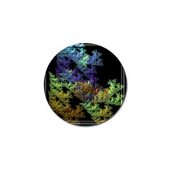 Fractal Forest Golf Ball Marker (10 Pack) by Simbadda