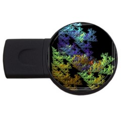 Fractal Forest Usb Flash Drive Round (2 Gb) by Simbadda