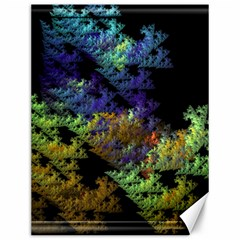 Fractal Forest Canvas 12  X 16   by Simbadda