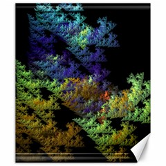 Fractal Forest Canvas 20  X 24   by Simbadda