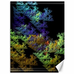 Fractal Forest Canvas 36  X 48   by Simbadda