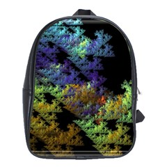Fractal Forest School Bags(large)  by Simbadda