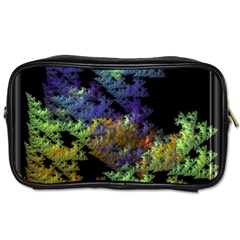 Fractal Forest Toiletries Bags