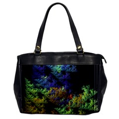 Fractal Forest Office Handbags by Simbadda
