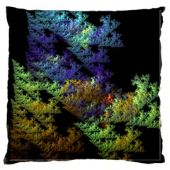 Fractal Forest Large Cushion Case (one Side) by Simbadda