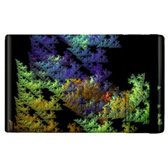 Fractal Forest Apple Ipad 2 Flip Case by Simbadda