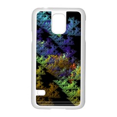 Fractal Forest Samsung Galaxy S5 Case (white) by Simbadda