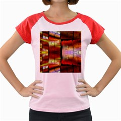 Fractal Tiles Women s Cap Sleeve T Shirt by Simbadda