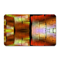 Fractal Tiles Magnet (rectangular) by Simbadda