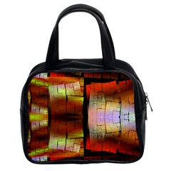Fractal Tiles Classic Handbags (2 Sides) by Simbadda