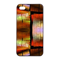 Fractal Tiles Apple Iphone 4/4s Seamless Case (black) by Simbadda