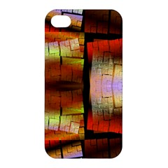 Fractal Tiles Apple Iphone 4/4s Premium Hardshell Case by Simbadda