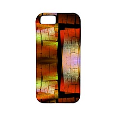 Fractal Tiles Apple Iphone 5 Classic Hardshell Case (pc+silicone)