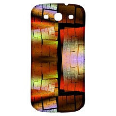 Fractal Tiles Samsung Galaxy S3 S Iii Classic Hardshell Back Case by Simbadda