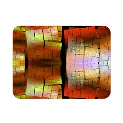 Fractal Tiles Double Sided Flano Blanket (mini)  by Simbadda