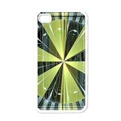 Fractal Ball Apple Iphone 4 Case (white) by Simbadda