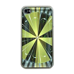 Fractal Ball Apple Iphone 4 Case (clear)