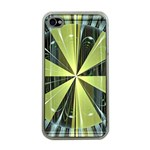 Fractal Ball Apple iPhone 4 Case (Clear) Front